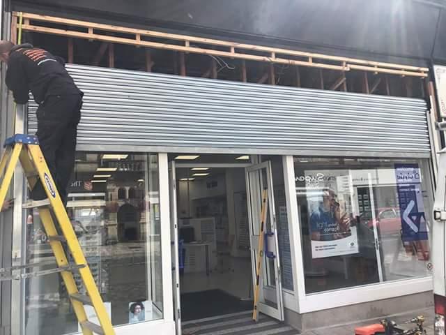 Roller Shutters Amp Garage Doors Door Supplier Glasgow